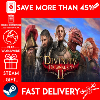 Divinity: Original Sin 2 (STEAM GIFT)🎁🎁🎁 (get a bonus game 🎮 and a discount 💵 for the next purchase)