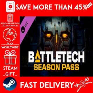 BATTLETECH Season Pass (STEAM GIFT)🎁🎁🎁 (get a bonus game 🎮 and a discount 💵 for the next purchase)
