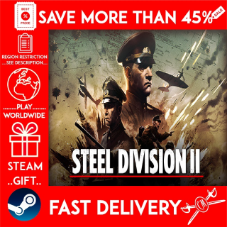 Steel Division 2 (STEAM GIFT) 🎁🎁🎁 (get a bonus game 🎮 and a discount 💵 for the next purchase)