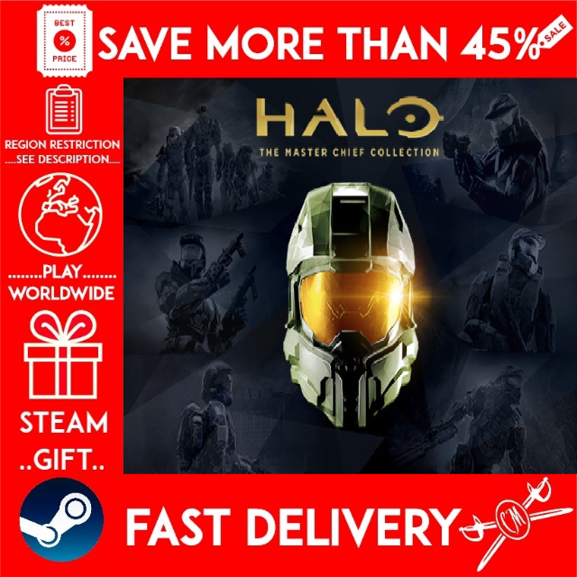 Halo The Master Chief Collection Steam Gift Get A