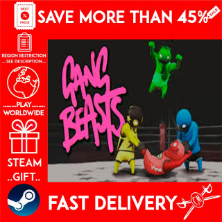 Gang Beasts (STEAM GIFT)🎁🎁🎁 (get a bonus game 🎮 and a discount 💵 for the next purchase)
