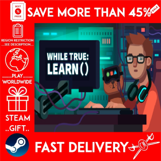 while True: learn() (STEAM GIFT)🎁🎁🎁 (get a bonus game 🎮 and a discount 💵 for the next purchase)