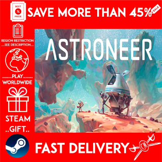 ASTRONEER (STEAM GIFT) 🎁🎁🎁 (get a bonus game 🎮 and a discount 💵 for the next purchase)