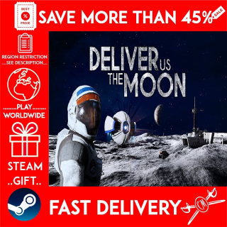 Deliver Us The Moon (STEAM GIFT) 🎁🎁🎁 (get a bonus game 🎮 and a discount 💵 for the next purchase)