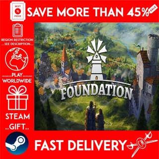 Foundation (STEAM GIFT)🎁🎁🎁 (get a bonus game 🎮 and a discount 💵 for the next purchase)