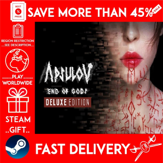 Apsulov: End of Gods - Deluxe Edition (STEAM GIFT) 🎁🎁🎁 (get a bonus game 🎮 and a discount 💵 for the next purchase)