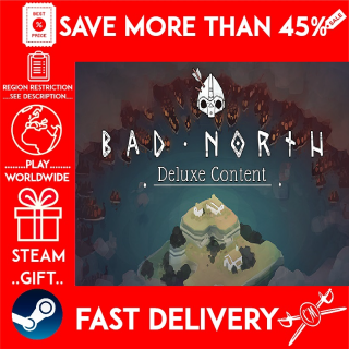 Bad North - Deluxe Edition Upgrade (STEAM GIFT)🎁🎁🎁 (get a bonus game 🎮 and a discount 💵 for the next purchase)