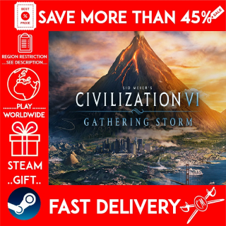 Sid Meier's Civilization® VI: Gathering Storm ❗DLC❗ (STEAM GIFT)🎁🎁🎁 (get a discount 💵 for the next purchase)