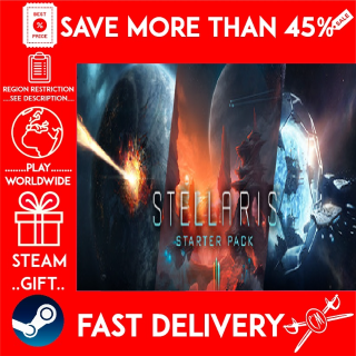 Stellaris - Starter Pack (STEAM GIFT)🎁🎁🎁 (get a bonus game 🎮 and a discount 💵 for the next purchase)