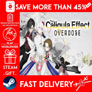 The Caligula Effect: Overdose (STEAM GIFT)🎁🎁🎁 (get a bonus game 🎮 and a discount 💵 for the next purchase)