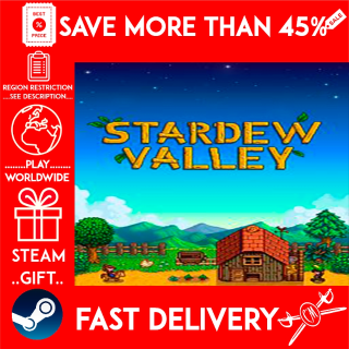 Stardew Valley (STEAM GIFT) 🎁🎁🎁 (get a bonus game 🎮 and a discount 💵 for the next purchase)