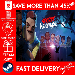 Secret Neighbor (STEAM GIFT) 🎁🎁🎁 (get a bonus game 🎮 and a discount 💵 for the next purchase)