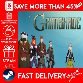 Grimshade (STEAM GIFT)🎁🎁🎁 (get a bonus game 🎮 and a discount 💵 for the next purchase)