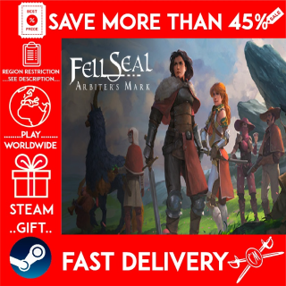 Fell Seal: Arbiter's Mark (STEAM GIFT)🎁🎁🎁 (get a bonus game 🎮 and a discount 💵 for the next purchase)