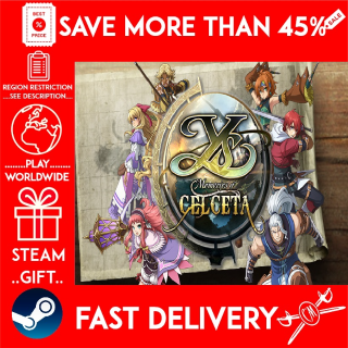 Ys: Memories of Celceta (STEAM GIFT)🎁🎁🎁 (get a bonus game 🎮 and a discount 💵 for the next purchase)