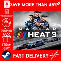 NASCAR Heat 3 (STEAM GIFT) 🎁🎁🎁 (get a bonus game 🎮 and a discount 💵 for the next purchase)