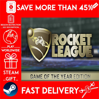 Rocket League® Game of the Year Edition (STEAM GIFT)🎁🎁🎁 (get a discount 💵 for the next purchase)