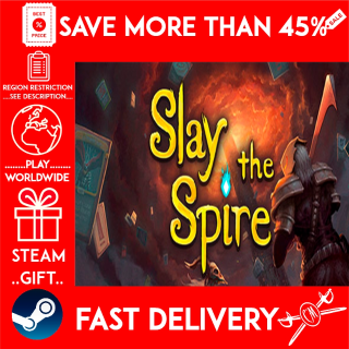 Slay the Spire (STEAM GIFT)🎁🎁🎁 (get a bonus game 🎮 and a discount 💵 for the next purchase)