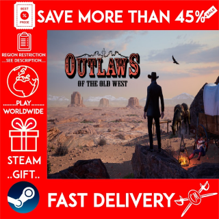 Outlaws of the Old West (STEAM GIFT) 🎁🎁🎁 (get a bonus game 🎮 and a discount 💵 for the next purchase)