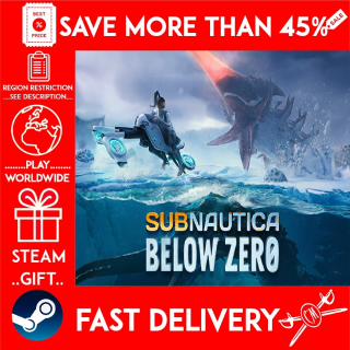 Subnautica: Below Zero (STEAM GIFT) 🎁🎁🎁 (get a bonus game 🎮 and a discount 💵 for the next purchase)