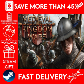 Medieval Kingdom Wars (STEAM GIFT)🎁🎁🎁 (get a bonus game 🎮 and a discount 💵 for the next purchase)