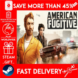 American Fugitive (STEAM GIFT)🎁🎁🎁 (get a bonus game 🎮 and a discount 💵 for the next purchase)