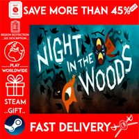 Night in the Woods (STEAM GIFT) 🎁🎁🎁 (get a bonus game 🎮 and a discount 💵 for the next purchase)