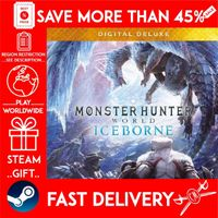 Monster Hunter World: Iceborne Digital Deluxe ❗DLC❗ (STEAM GIFT) 🎁🎁🎁 (bonus game 🎮 and a discount 💵 for the next purchase)