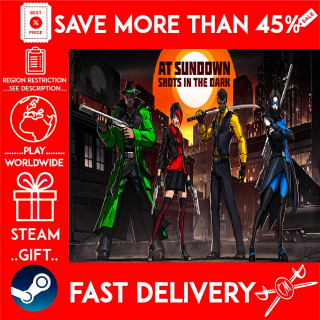 AT SUNDOWN: Shots in the Dark (STEAM GIFT)🎁🎁🎁 (get a bonus game 🎮 and a discount 💵 for the next purchase)