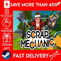 Scrap Mechanic (STEAM GIFT) 🎁🎁🎁 (get a bonus game 🎮 and a discount 💵 for the next purchase)