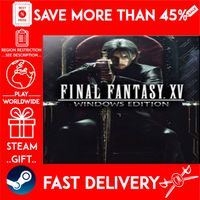 FINAL FANTASY XV WINDOWS EDITION (STEAM GIFT)🎁🎁🎁 (get a bonus game 🎮 and a discount 💵 for the next purchase)
