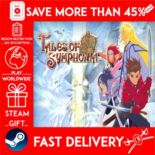 Tales of Symphonia (STEAM GIFT) 🎁🎁🎁 (get a bonus game 🎮 and a discount 💵 for the next purchase)