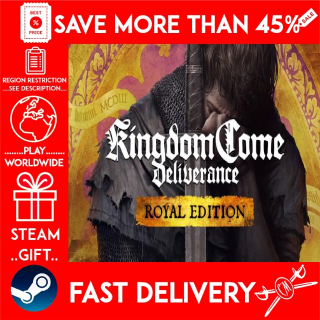 Kingdom Come: Deliverance Royal Edition (STEAM GIFT)🎁🎁🎁 (get a bonus game 🎮 and a discount 💵 for the next purchase)