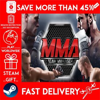 MMA Team Manager (STEAM GIFT)🎁🎁🎁 (get a bonus game 🎮 and a discount 💵 for the next purchase)