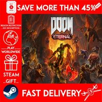 DOOM Eternal (STEAM GIFT) 🎁🎁🎁 (get a bonus game 🎮 and a discount 💵 for the next purchase)