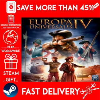 Europa Universalis IV (STEAM GIFT) 🎁🎁🎁 (get a bonus game 🎮 and a discount 💵 for the next purchase)