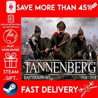 Tannenberg (STEAM GIFT)🎁🎁🎁 (get a bonus game 🎮 and a discount 💵 for the next purchase)