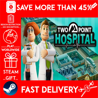 Two Point Hospital (STEAM GIFT)🎁🎁🎁 (get a bonus game 🎮 and a discount 💵 for the next purchase)