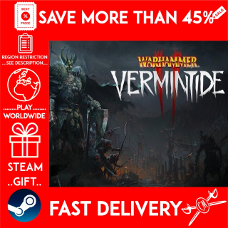 Warhammer: Vermintide 2 (STEAM GIFT)🎁🎁🎁 (get a bonus game 🎮 and a discount 💵 for the next purchase)