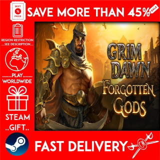 Grim Dawn - Forgotten Gods Expansion ❗DLC❗ (STEAM GIFT)🎁🎁🎁 (get a bonus game 🎮 and a discount 💵 for the next purchase)