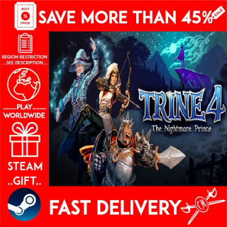 Trine 4: The Nightmare Prince (STEAM GIFT) 🎁🎁🎁 (get a bonus game 🎮 and a discount 💵 for the next purchase)