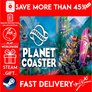 Planet Coaster (STEAM GIFT)🎁🎁🎁 (get a bonus game 🎮 and a discount 💵 for the next purchase)