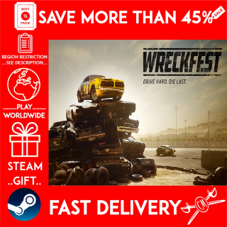 Wreckfest (STEAM GIFT)🎁🎁🎁 (get a bonus game 🎮 and a discount 💵 for the next purchase)