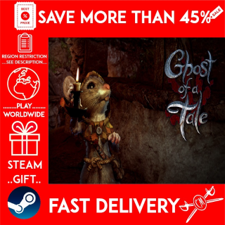 Ghost of a Tale (STEAM GIFT)🎁🎁🎁 (get a bonus game 🎮 and a discount 💵 for the next purchase)