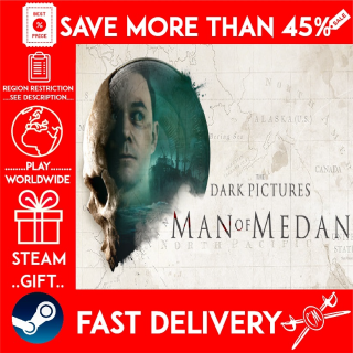 The Dark Pictures Anthology: Man of Medan (STEAM GIFT) 🎁🎁🎁 (get a bonus game 🎮 and a discount 💵 for the next purchase)