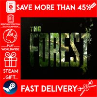 The Forest (STEAM GIFT) 🎁🎁🎁 (get a bonus game 🎮 and a discount 💵 for the next purchase)