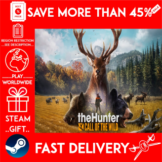 theHunter: Call of the Wild (STEAM GIFT)🎁🎁🎁 (get a bonus game 🎮 and a discount 💵 for the next purchase)