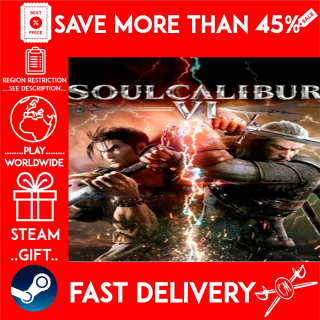 SOULCALIBUR VI (STEAM GIFT)🎁🎁🎁 (get a bonus game 🎮 and a discount 💵 for the next purchase)