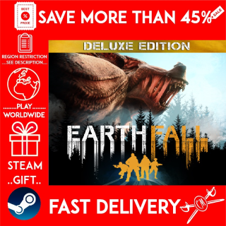 Earthfall - Deluxe Edition (STEAM GIFT)🎁🎁🎁 (get a bonus game 🎮 and a discount 💵 for the next purchase)