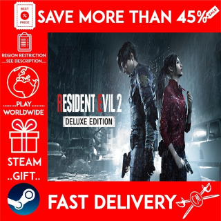 RESIDENT EVIL 2 / BIOHAZARD RE:2 DELUXE EDITION (STEAM GIFT)🎁🎁🎁 (get a discount 💵 for the next purchase)